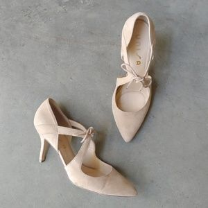 Unisa Heira Pumps nude cream size 9.5M